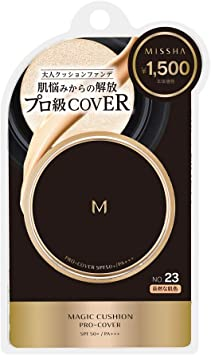 MISSHA(ミシャ) ミシャ M クッション ファンデーション (プロカバー) No.23 自然な肌色 単品 15g