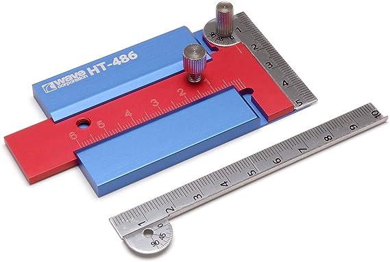 ウェーブ ホビーツールシリーズ HG スライドT定規2 プラモデル用工具 HT-486