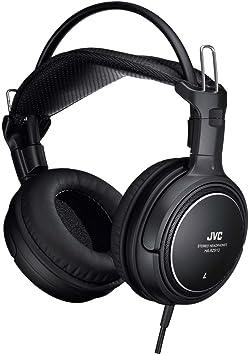 JVC HA-RZ910 密閉型ステレオヘッドホン 室内用(テレビ・ゲーム向け) 1.2m+延長2.3mコード付き