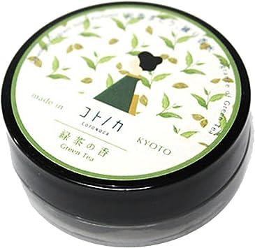 コトノカ 練り香水 緑茶の香り