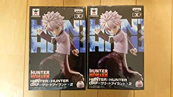 HUNTER×HUNTER ハンター×ハンター DXF ×グリードアイランド フィギュア キルアゾルディック 2個セット