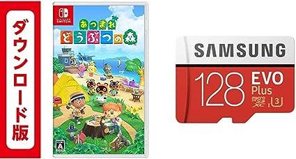 あつまれ どうぶつの森|オンラインコード版 + Samsung micro SD 128GB セット