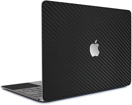 wraplus for MacBook Air Retina 13 インチ 2020 2019 2018 対応 全31色 [ブラックカーボン] スキンシール フィルム ケース...