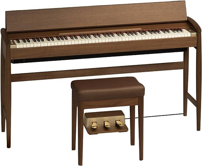 Roland & Karimoku ローランド カリモク / きよら Kiyola KF-10 ウォールナット仕上げ 電子ピアノ
