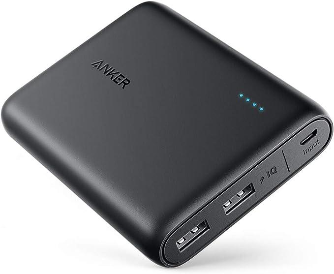 Anker PowerCore 13000 (13000mAh 2ポート 大容量 モバイルバッテリー)【PSE認証済 / PowerIQ搭載 / コンパクトサイズ】 iPho...