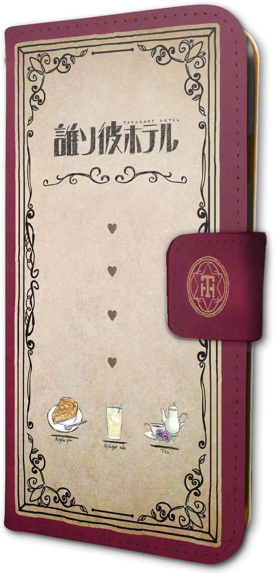 誰ソ彼ホテル 01 ロゴ・モチーフデザイン(グラフアートデザイン) 手帳型スマホケース iPhone6/6S/7/8兼用