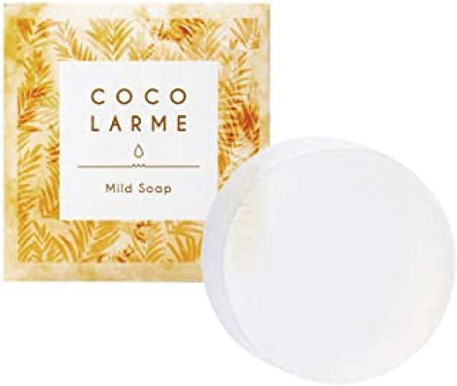 さくらの森 ココラルム マイルドソープ 洗顔石けん 濃密泡 85g ヴァージンココナッツオイル 洗顔 洗顔石鹸 もっちり泡 ココナッツオイル