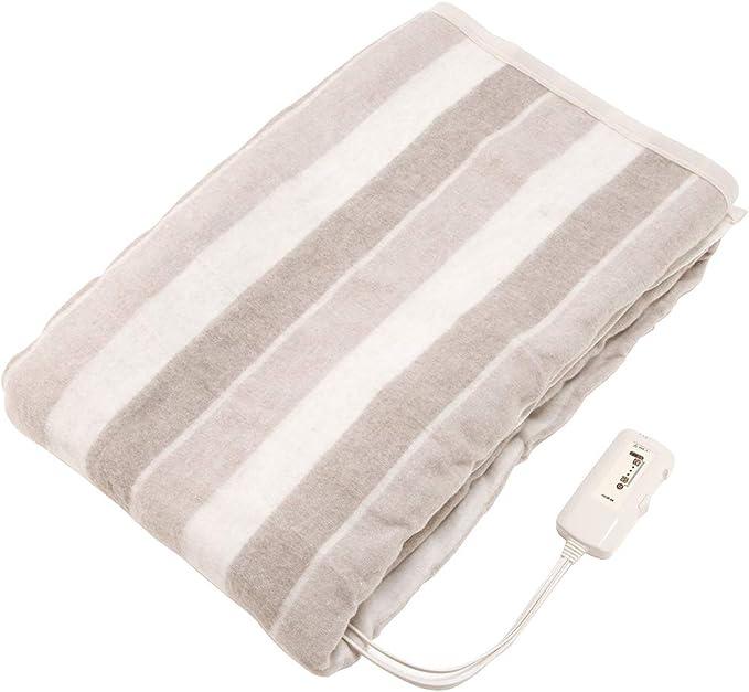 コイズミ 電気毛布 掛敷毛布 水洗い可能 188×130cm KDK-6081