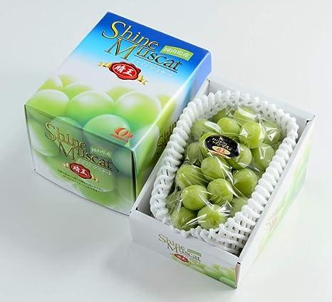 ぶどう シャインマスカット 晴王 特秀 約700g×1房 岡山県産 JAおかやま 葡萄 ブドウ