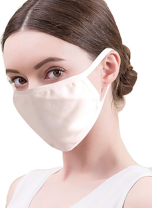 (ケイミ)KEIMI マスク白洗える 抗菌ポリウレタン素材 防塵 花粉症対策 抗菌 軽量 快適 通気性 息苦しくない UVカット 繰り返し使える 3枚セット
