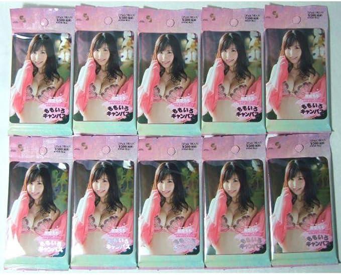 桜空もも オフィシャルカード ももいろキャンバス 10パック