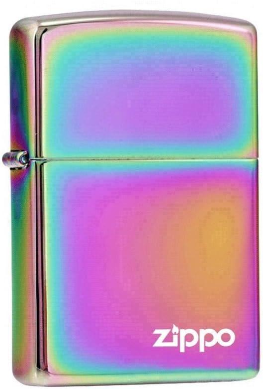 ZIPPO ジッポー 151ZL Spectrum スペクトラム PVD加工 虹色 ZIPPOロゴ FULL SIZE ZIPPO LIGHTER ジッポライター [並行輸入品]