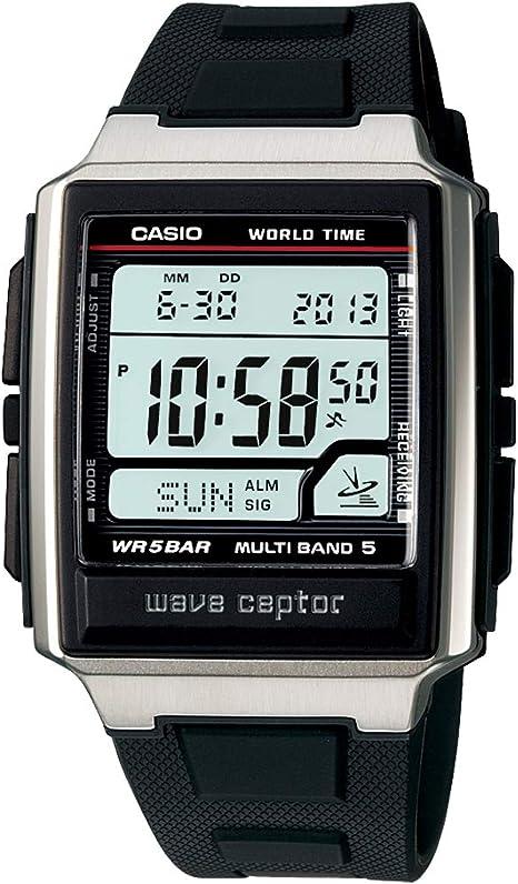 [カシオ] 腕時計 ウェーブセプター 電波時計 WV-59J-1AJF メンズ ブラック