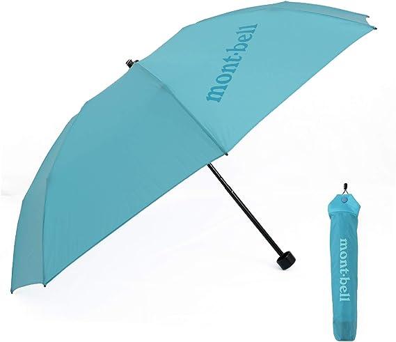 [モンベル] mont-bell 傘 6色 折りたたみ傘 エアライトナイロン トレッキングアンブレラ 10デニール 折り畳み傘 8本骨 アウトドア 雨傘 雨具 1128551