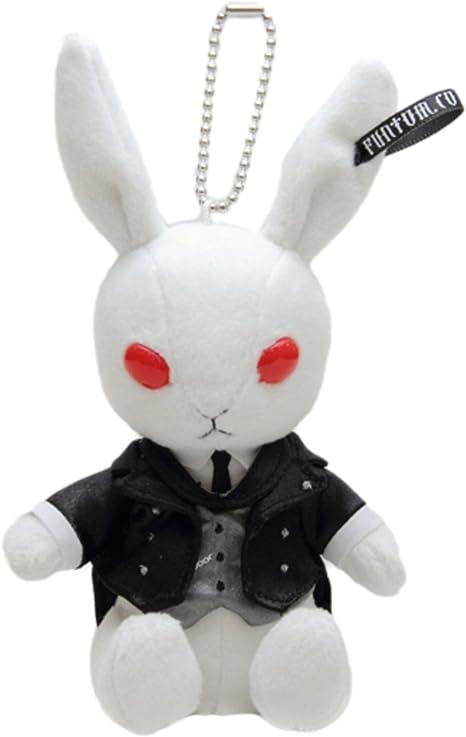 「黒執事 Black Label」ビターラビットミニ セバスチャン 燕尾服Ver. 枢やな先生デザインのブランドカード付き