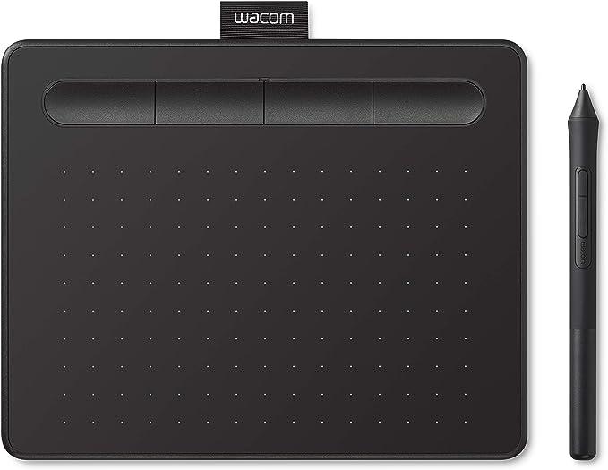 【Amazon.co.jp限定】ワコム ペンタブレット Wacom Intuos Smallベーシック お絵かきソフトウェア付き 黒 Androidにも対応 データ特典付き ...