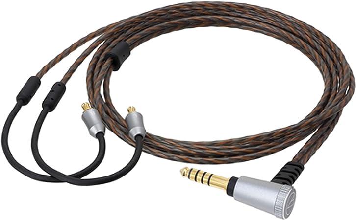 audio-technica ヘッドホンリケーブル 1.2m A2DCコネクタ⇔4.4mm5極バランス HDC314A/1.2