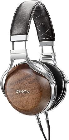デノン Denon AH-D7200 ヘッドホン オーバーイヤー/ハイレゾ音源対応/ウッドハウジング ウォールナット木目 AH-D7200EM