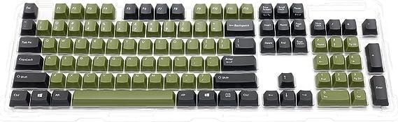 FILCO Majestouchシリーズ専用交換用カラーキーキャップセット 英語104キー(87キー兼用) US ASCII 2トーンA FKCS104ED/O