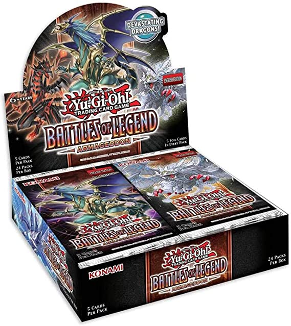 遊戯王 Battles of Legend: Armageddon BOX【遊戯王 英語版】