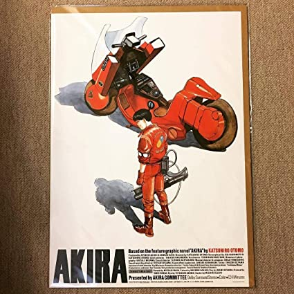ポスター大友克洋 AKIRA 国際映画祭参加版 復刻版