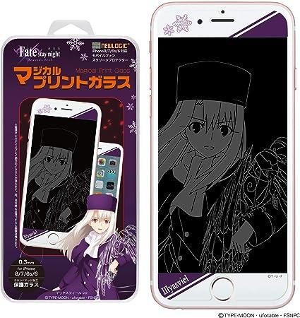 【劇場版「Fate/stay night [Heaven's Feel]」】 NEWLOGIC iPhone C-Glass 0.3mm マジカルプリントガラス 強化ガラス ...