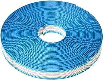手芸用 エコ クラフトテープ 人魚姫 50m巻 幅15mm 12芯 紙 バンド テープ 日本製