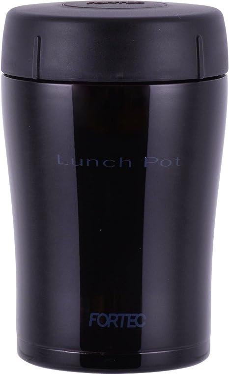 和平フレイズ 弁当箱 ハンディランチポット スープ リゾット 果物 フォルテック・ランチ 400ml ダークパープル セラミックコート 真空断熱構造 保温 保冷 FLR-6865