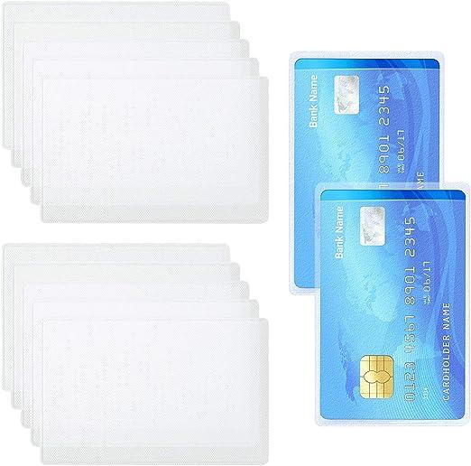 カードケース 15枚入り 防水 IDカードケース 防止 パスポート·免許証·保険証·カード 保護 薄型 安心 (両面透明)by MAVEEK