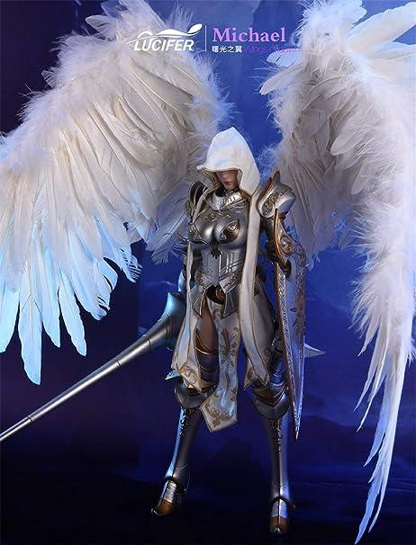 限定版 1/6 フィギュアセット エンジェルセット ウイング付き 鎧セット シーン付き 女性 武器付き 曙光ウイング