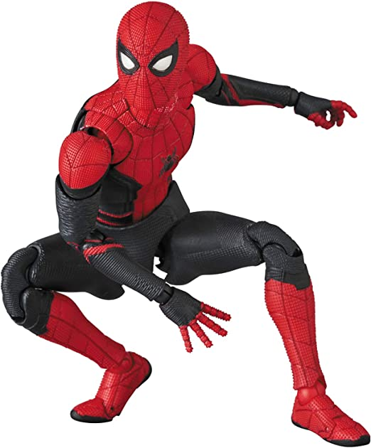 MAFEX マフェックス No.113 SPIDER-MAN Upgraded Suit 『SPIDER-MAN Far from Home』 全高約150mm 塗装済み ア...