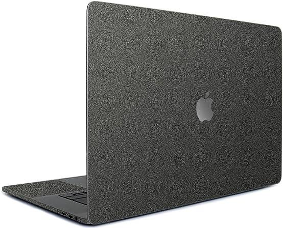 wraplus for MacBook Pro 15 インチ 2019 2018 2017 2016 対応 全31色 [ガンメタリック] スキンシール フィルム ケース カバー