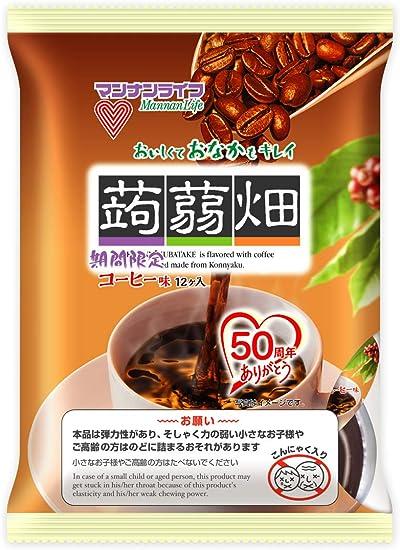 マンナンライフ 蒟蒻畑コーヒー味 25g×12個×12袋