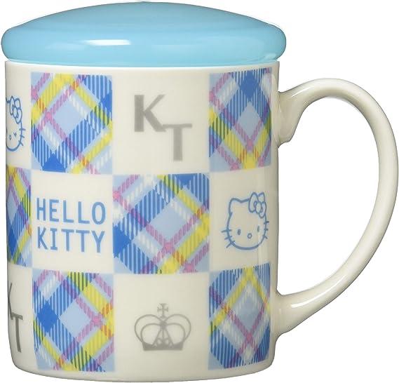 サンリオ(SANRIO) 「 Hello Kitty(ハローキティ) 」 キティ 蓋付き マグカップ 300ml ブルー 300757