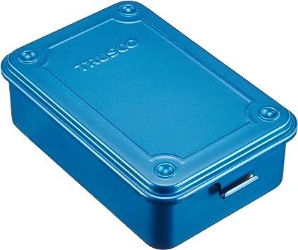 TRUSCO(トラスコ) トランク型工具箱 154X105X52 ブルー T-150
