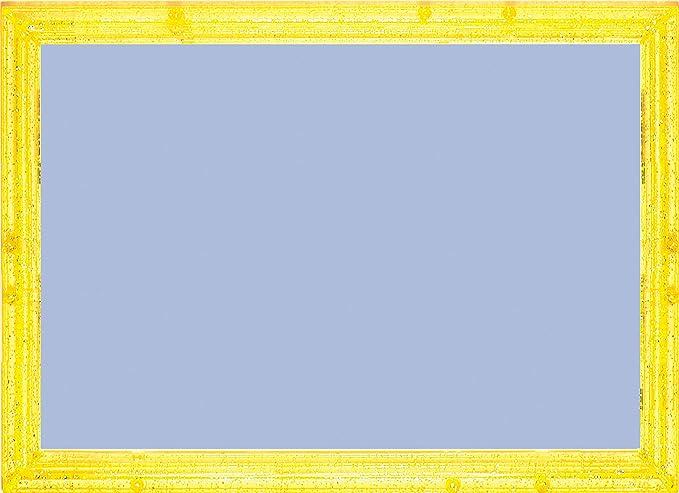 パズルフレーム クリスタルパネル キライエロー (18.2x25.7cm)