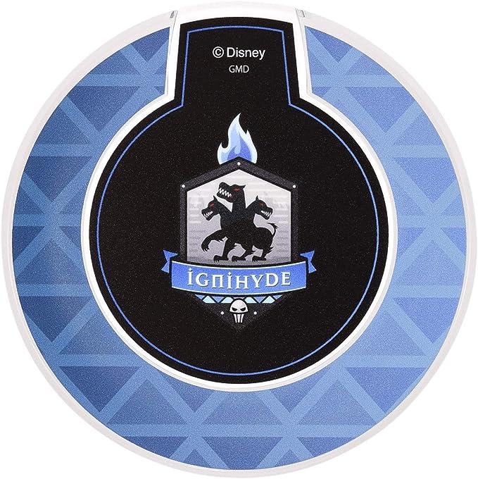 グルマンディーズ ディズニー ツイステッドワンダーランド ワイヤレスチャージャー イグニハイド ブルー DN-701F