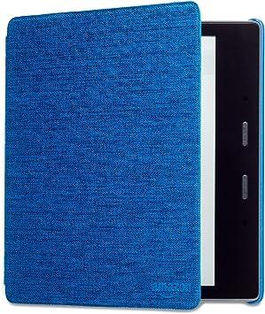 【 Kindle Oasis (第9世代、第10世代)用】 Amazon純正 ファブリックカバー マリンブルー