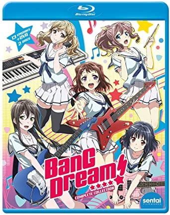 BanG Dream! Blu-Ray(BanG Dream! バンドリ! 全13話+OVA)
