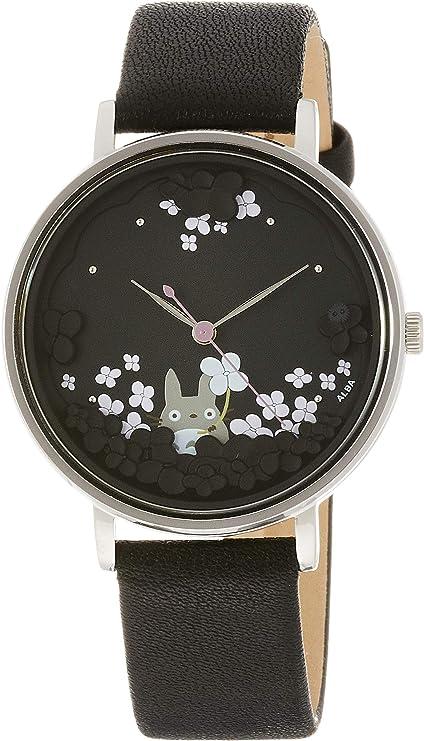 [セイコーウォッチ] 腕時計 アルバ となりのトトロ30周年記念 限定1,000本 黒文字盤 ACCK706 ブラック