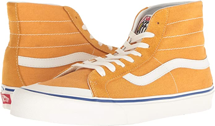 [VANS(バンズ)] メンズスニーカー・靴 SK8-Hi 138 Decon SF (Salt Wash) Sunflower/Marshmallow 10.5 (28.5...