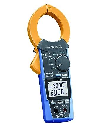 HIOKI (日置電機) AC/DCクランプメータ(AC/DC2000A Bluetooth搭載) CM4374