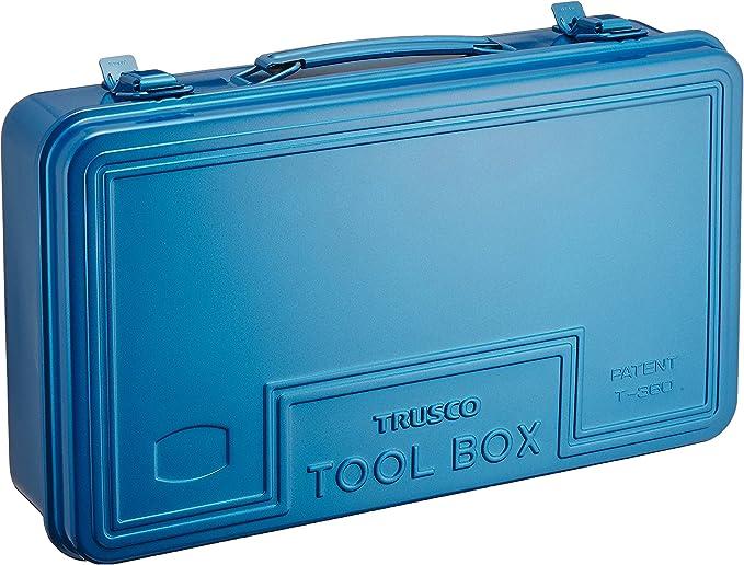 TRUSCO(トラスコ) トランク工具箱 368X222X95 ブルー T-360