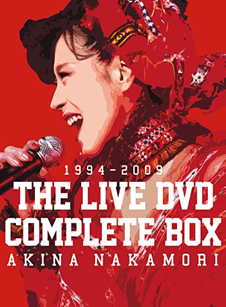 中森明菜 THE LIVE DVD COMPLETE BOX
