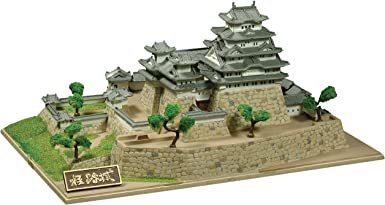 童友社 1/800 日本の名城 JOYJOYコレクション 世界文化遺産 国宝 姫路城 プラモデル JJ1