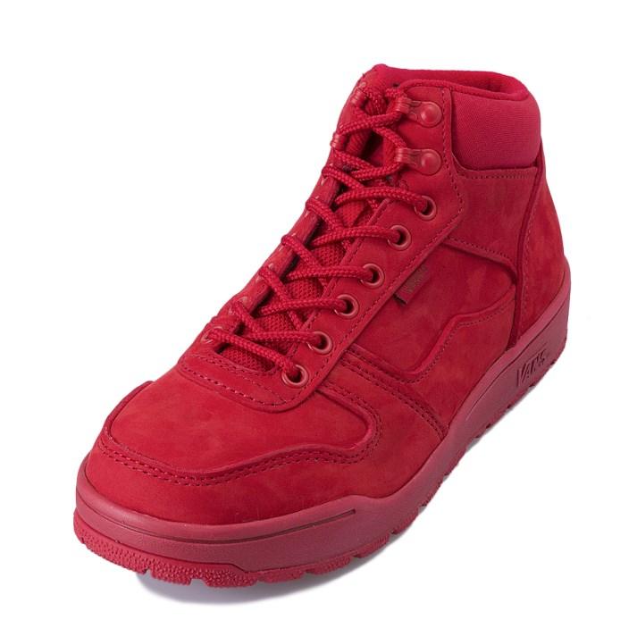 【VANS】 ヴァンズ WORKER BEE V2552SNOW 冬靴 N/RED