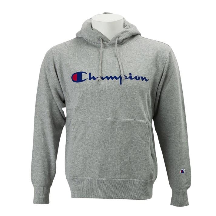 【CHAMPION】 チャンピオン ロゴプルオーバーパーカー2 C3-J117Z グレー