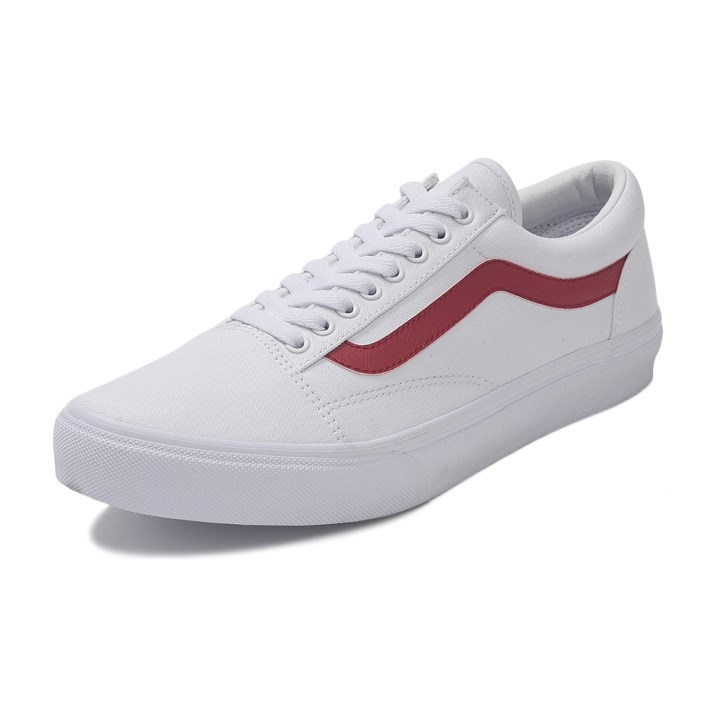 【VANS】 ヴァンズ OLD SKOOL DX オールドスクール DX V36CL+ CVS WHITE/RED