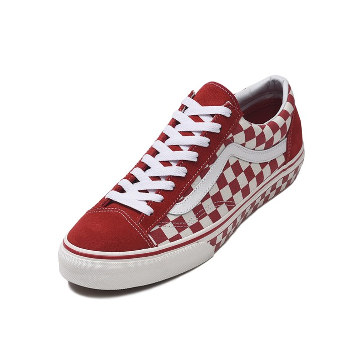 【VANS】 Style 36 ヴァンズ スタイル36 VN0A3DZ3T1D (CHECK)R.RED