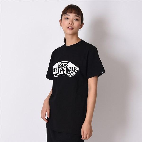 【VANSアパレル】 ヴァンズ Tシャツ SK8 DECK BASIC S/S-TEE VANS-03ABC BLK/WHT